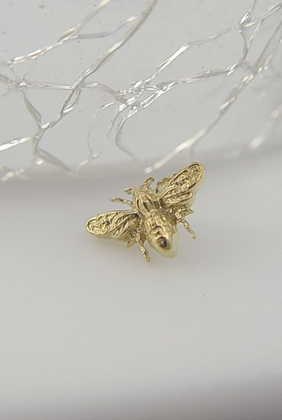 Anato-Bee end in Gold! Threaded 14g