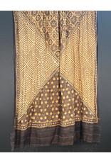 Sufiyan Amida Shawl Brown Geometric