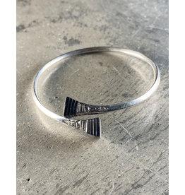 Timidwa Tuareg Silver Wrap Bracelet