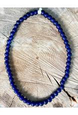 """Cedi Handmade Transparent Bead Strand Blue 1/2"""""""