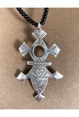 Timidwa Tuareg Cross Necklace