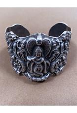Jaipur Silver Shiva Cuff