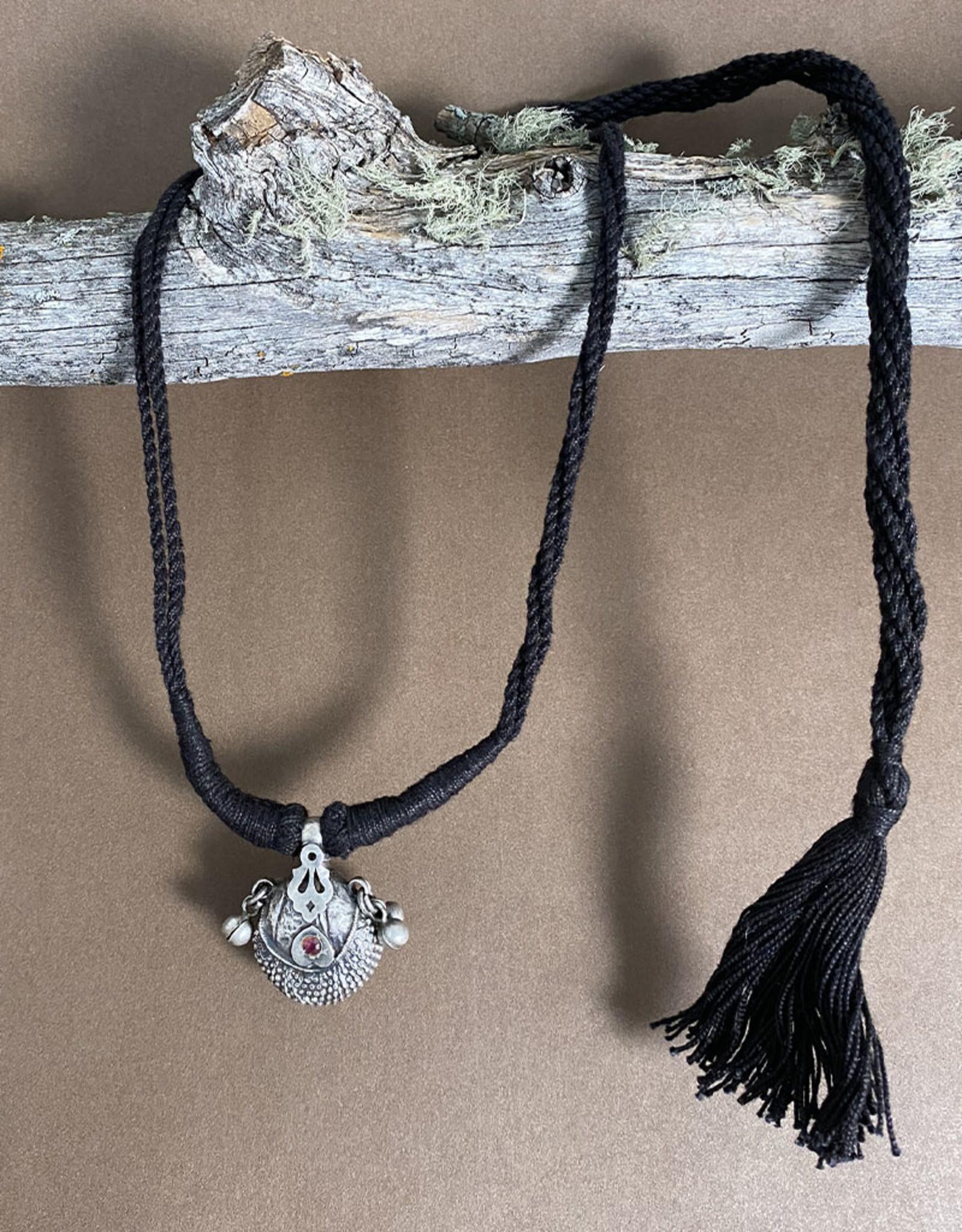 Jaipur Silver Handmade Taviz Necklace VI
