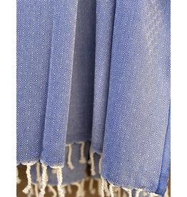 Comptoir de L'artisanat Diamond Fouta Blue