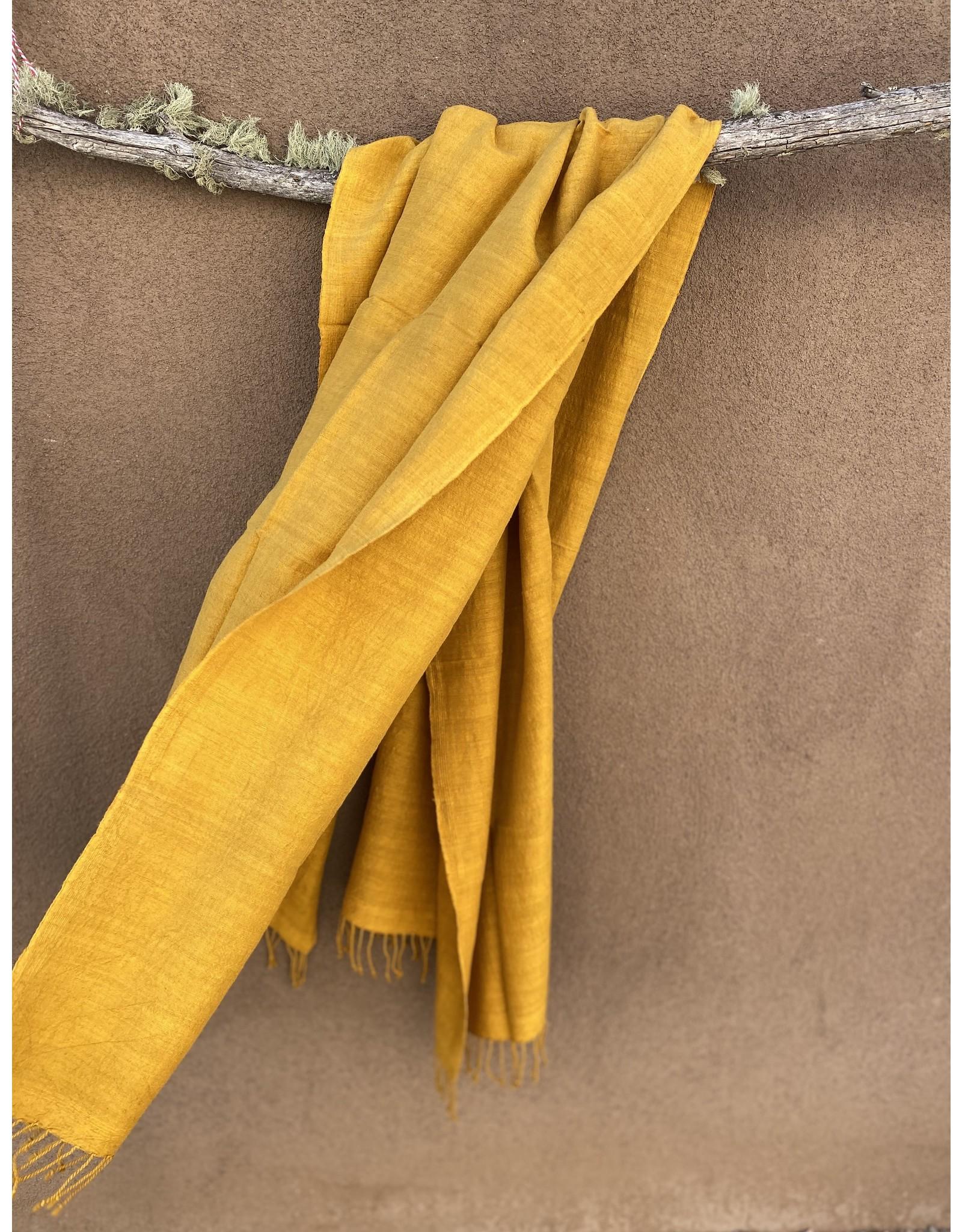 Haridra Matka Silk Scarf Turmeric