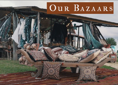 Traveling Pop-up Bazaars