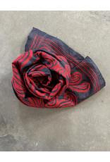 SHE Varma Shawl Paisley Crimson