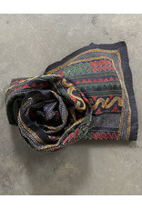 SHE Saumya Scarf Terraces Navy Multi
