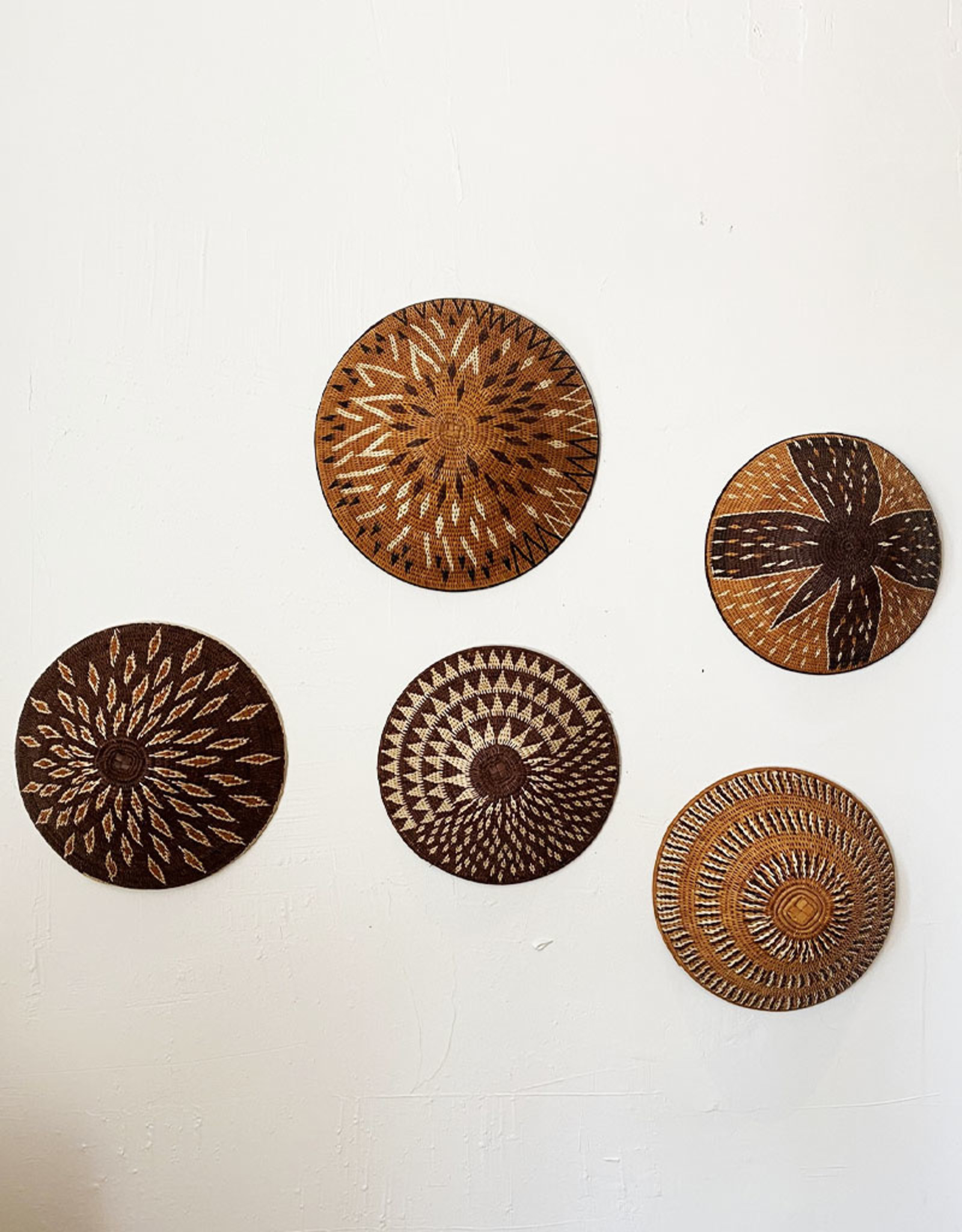 Omba Finely Woven Namibian Basket Horizon Rays