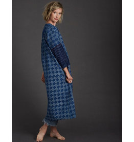 Dharan Indigo Tile Dress