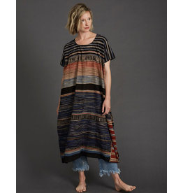 Haridra Hand Painted Natural Dye Dress One Size