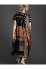 Haridra Hand Painted Natural Dye Dress One Size