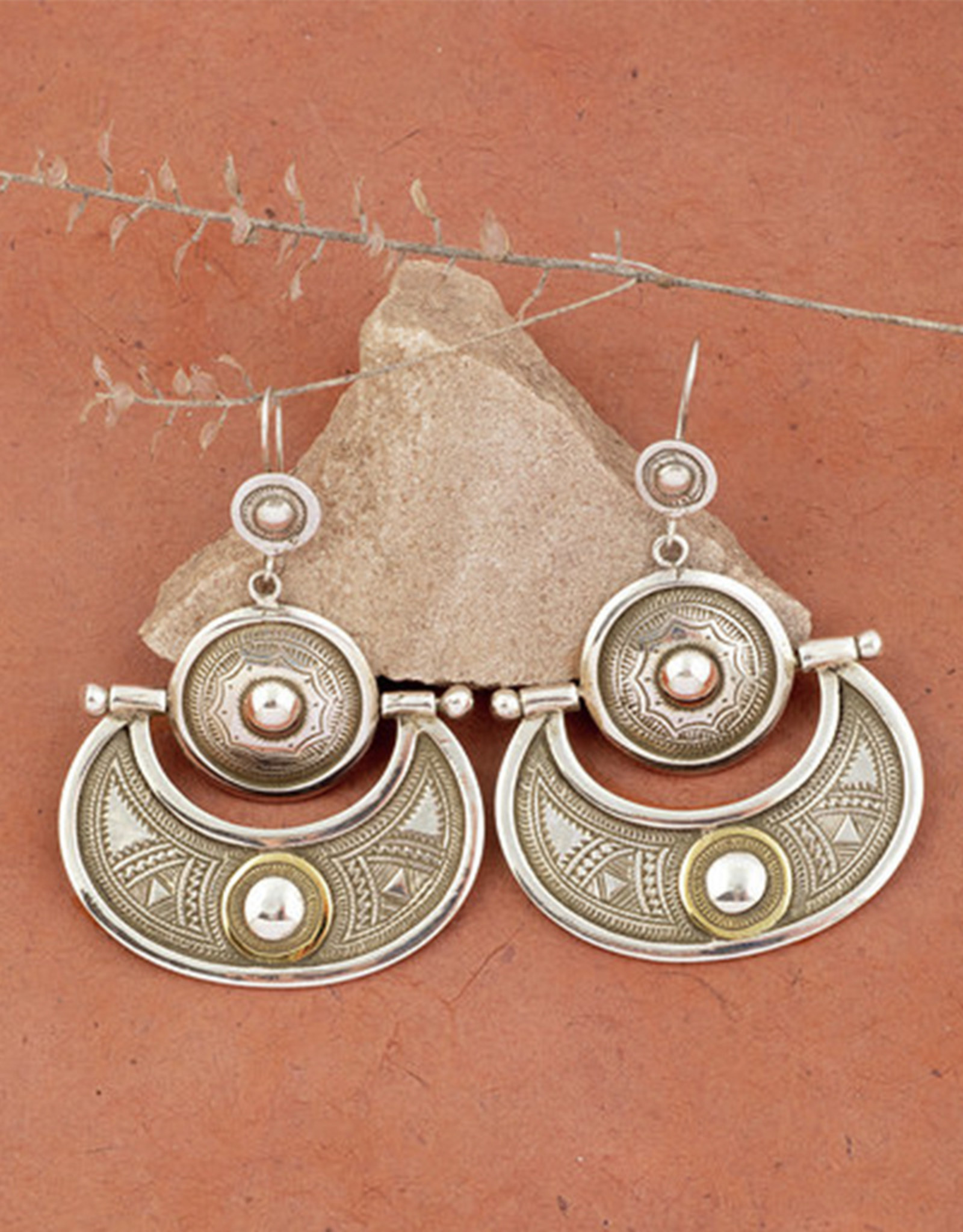 Timidwa Lunja Desert Moon Earrings