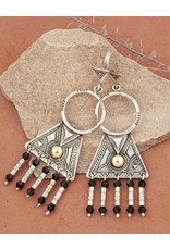 Timidwa Lunja Tassel Earrings
