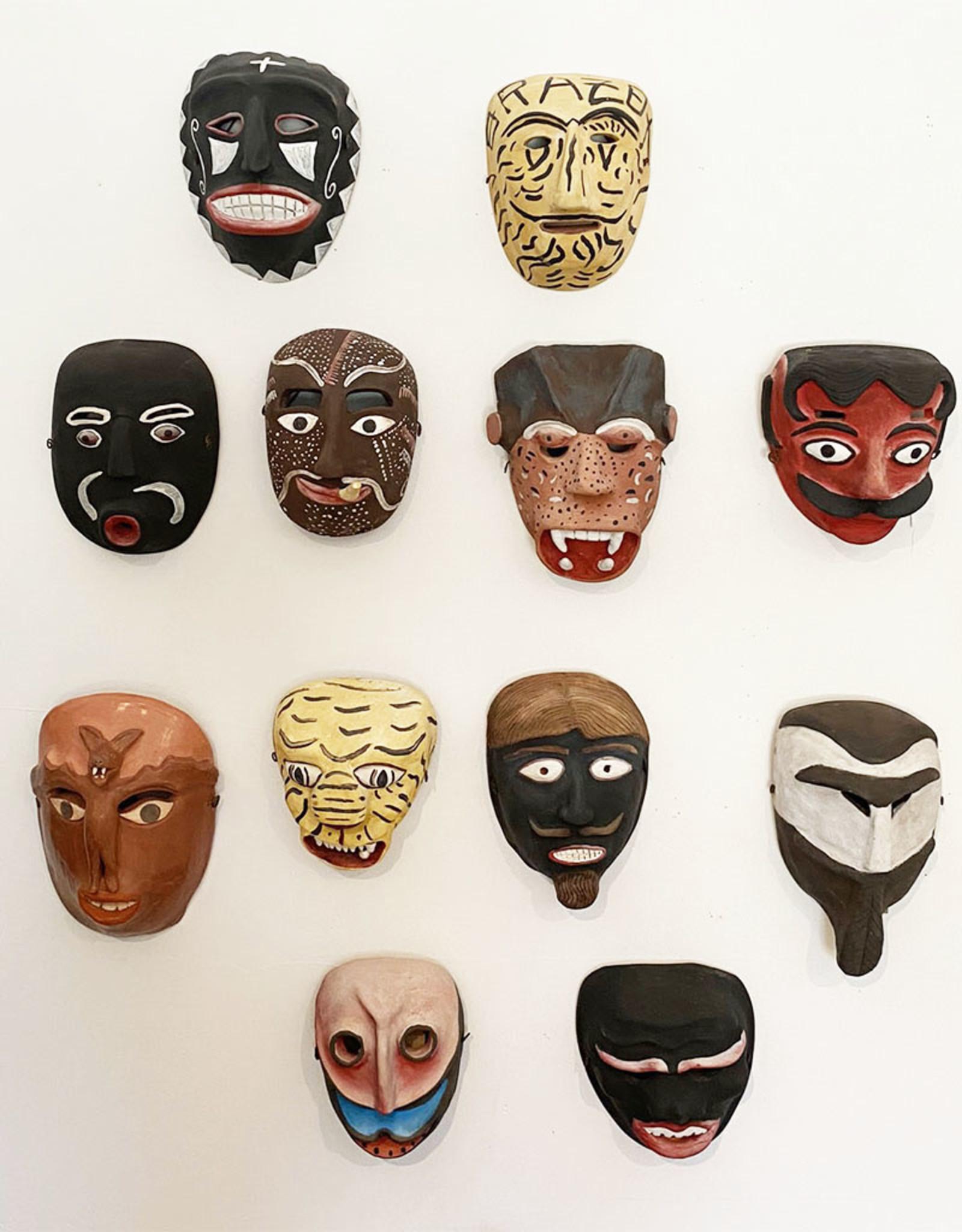 Manuel Reyes Diablo Mask