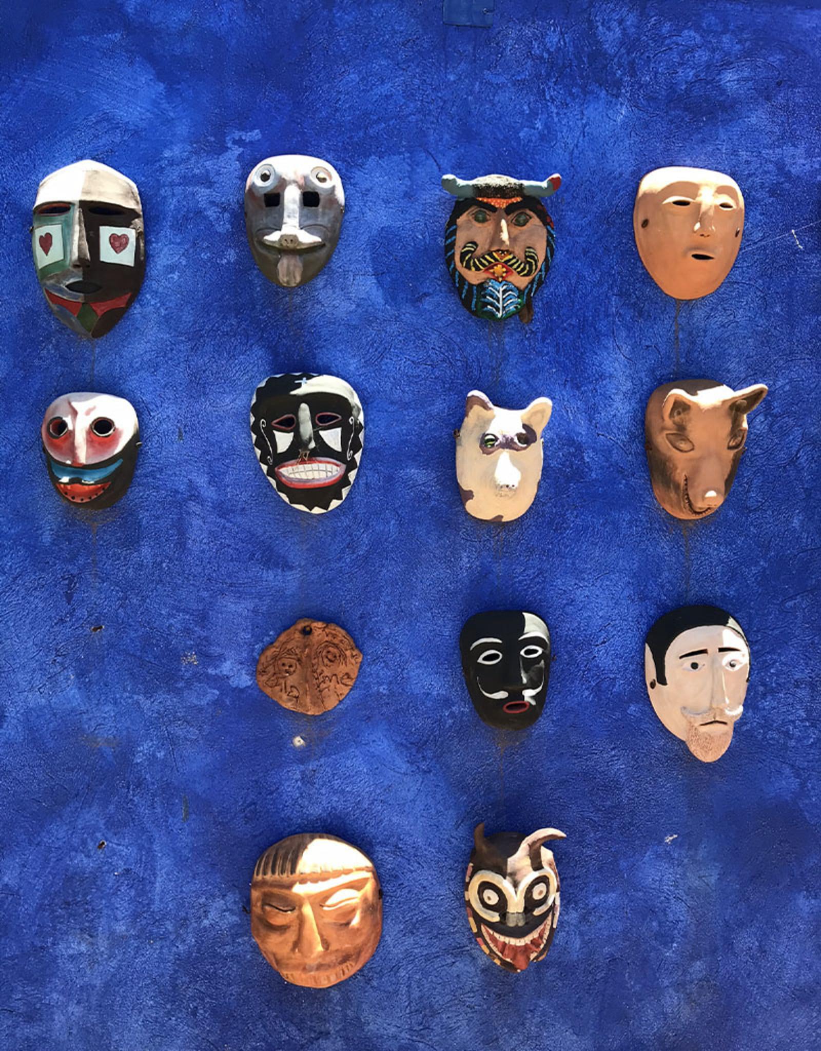 Manuel Reyes Nahua Moor Mask