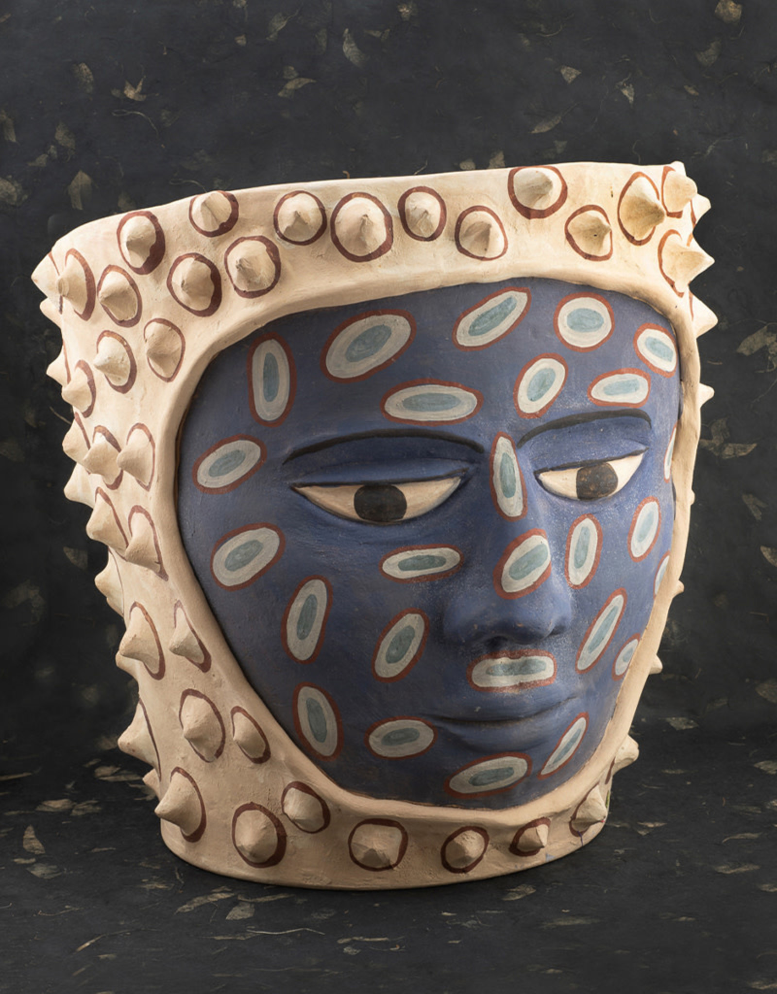 Manuel Reyes El Pochote Pot Large Blue