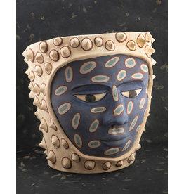Manuel Reyes El Pochote Pot Large Blue