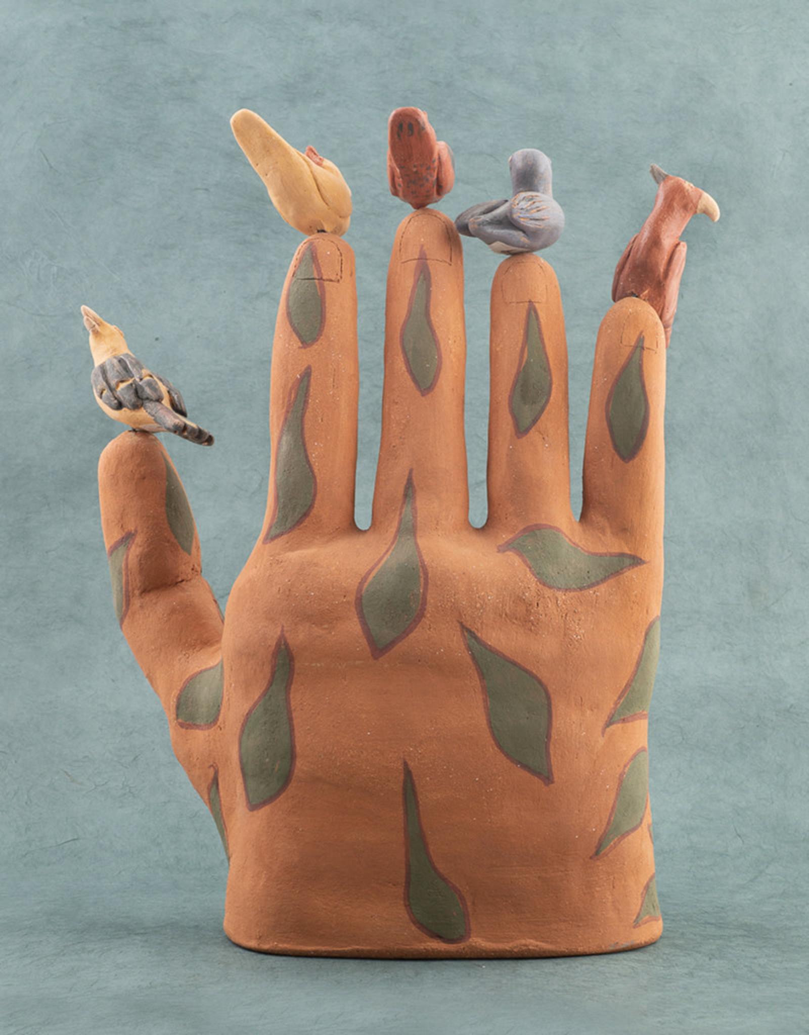 Manuel Reyes Mano de Vida Terracotta