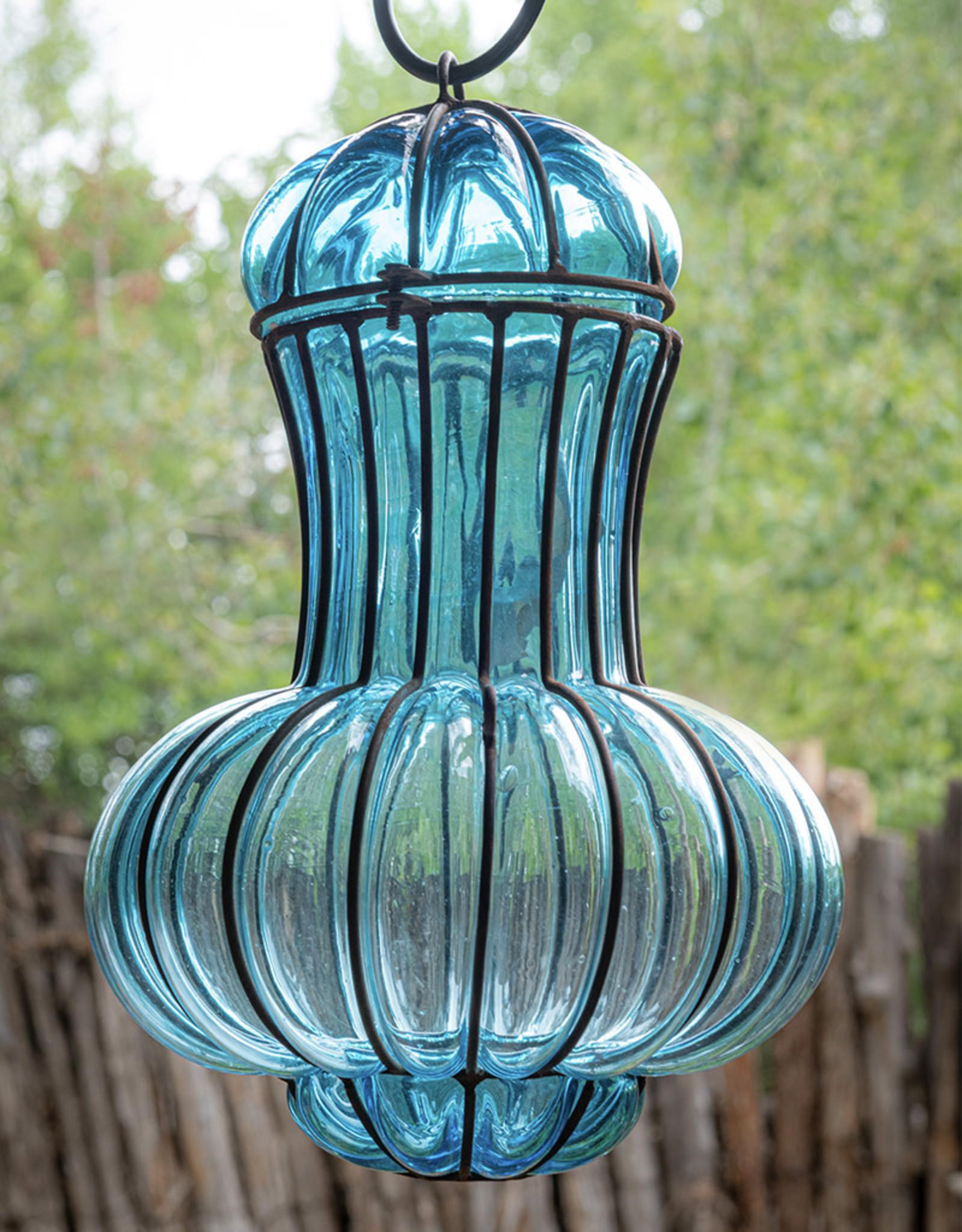 Deir Ezzor Lantern Turquoise