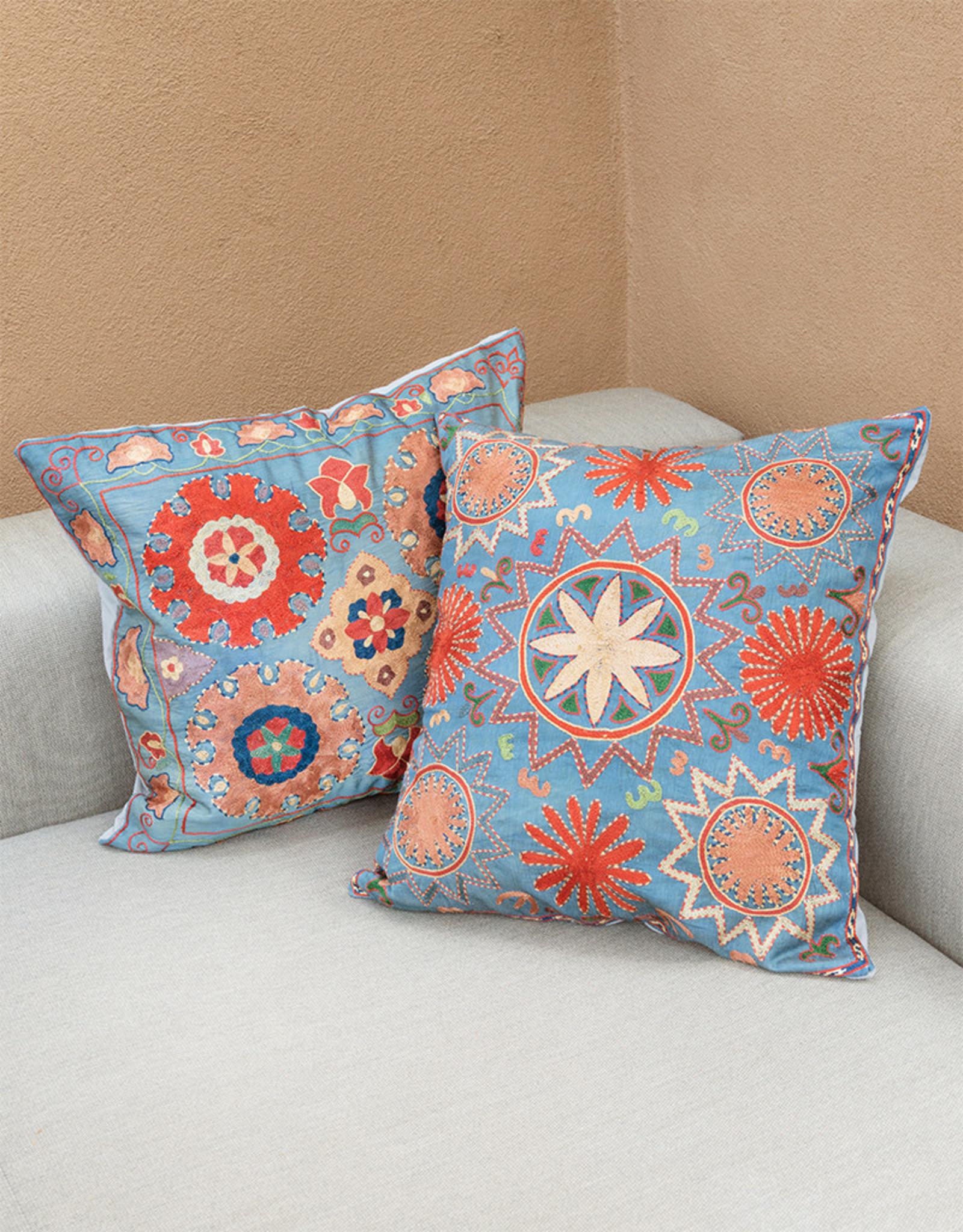 Nazarov Family Tengri Pillow Sky II