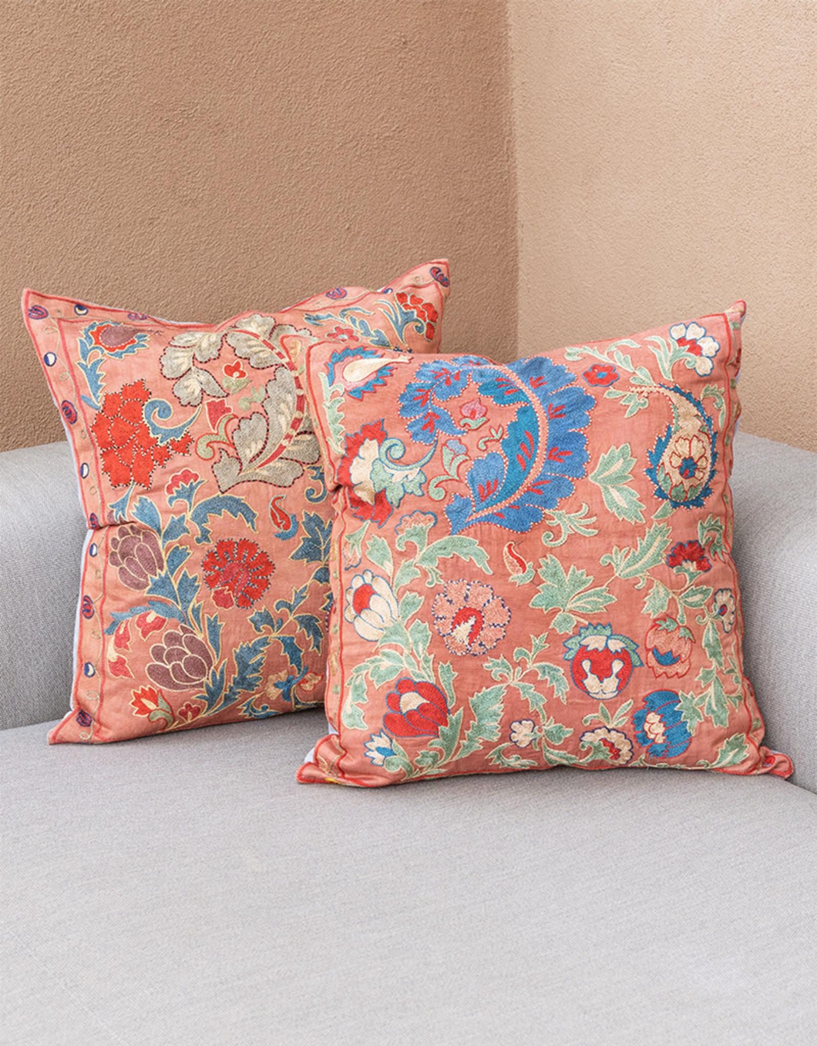 Nazarov Family Arabesque Pillow Rose I