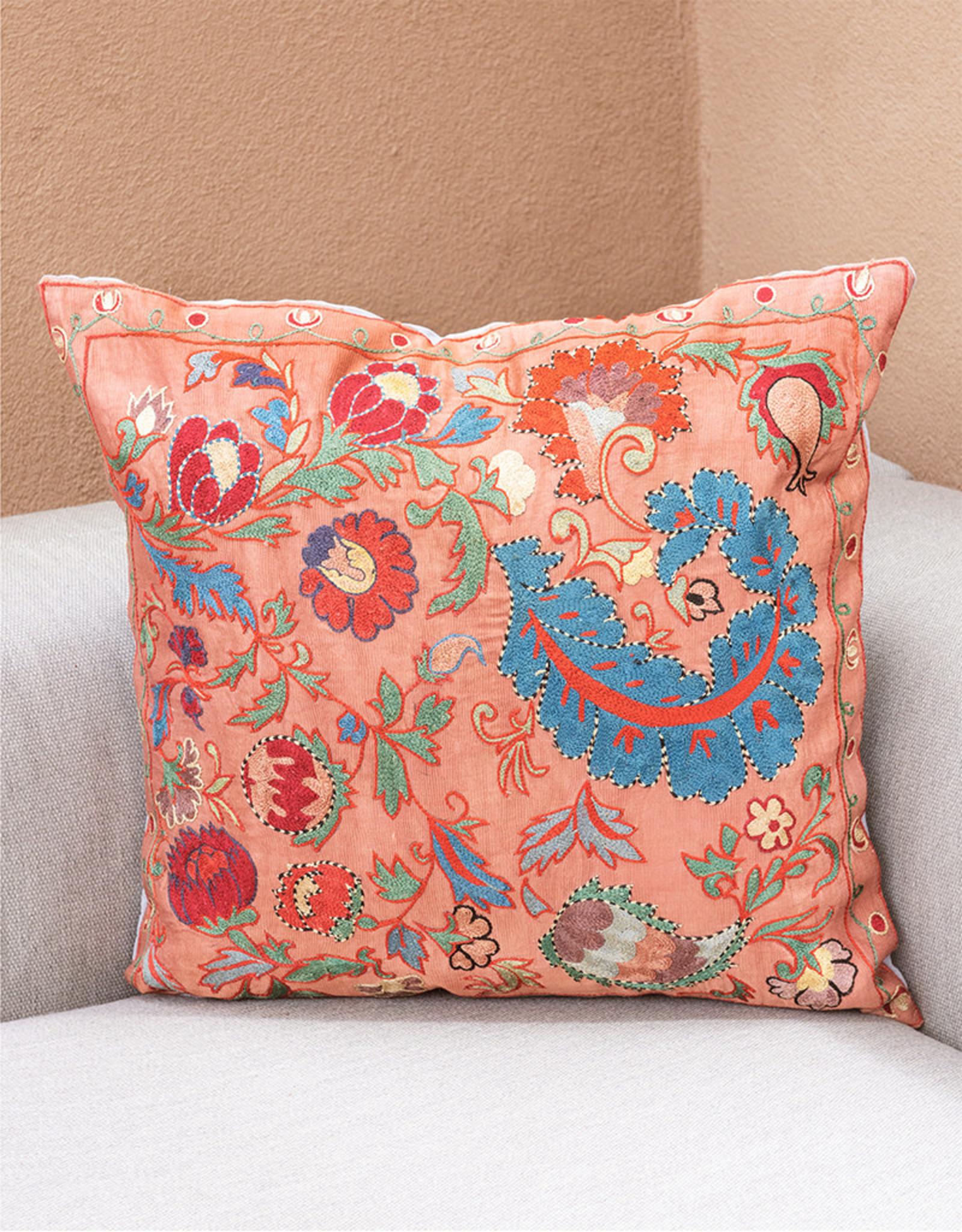 Nazarov Family Arabesque Pillow Rose III