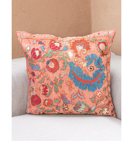 Nazarov Family Arabesque Pillow Rose III
