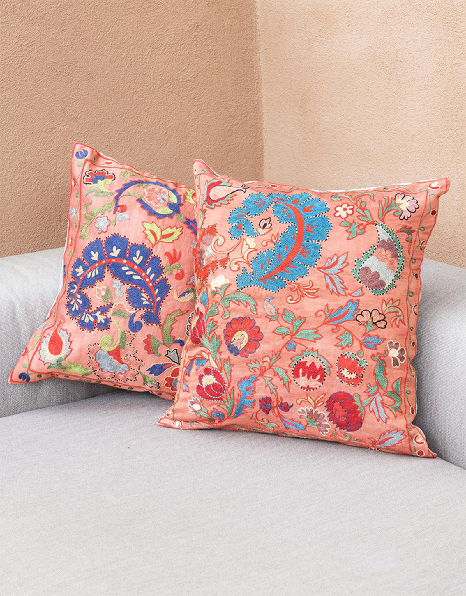 Nazarov Family Arabesque Pillow Rose IV
