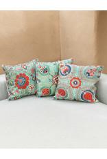 Nazarov Family Kismet Pillow Turquoise I