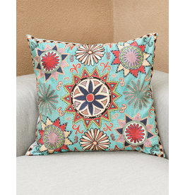 Nazarov Family Tengri Pillow Turquoise
