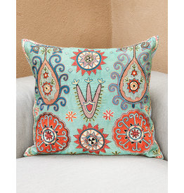 Nazarov Family Umai Pillow Turquoise