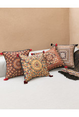 Qasab Shisha White Sun Pillow