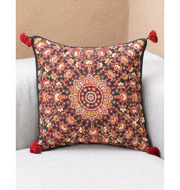 Shisha Red Sun Pillow