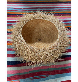 Tahiana Handwoven Vetiver Nest Basket Large