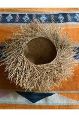 Tahiana Handwoven Vetiver Nest Basket Small