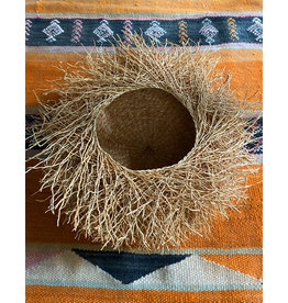 Tahiana Handwoven Vetiver Nest Basket Small