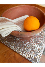 Andares Hand Hammered Tin Charger