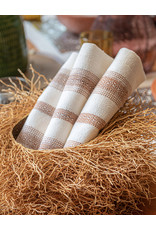 Andares Hand Woven Napkin Natural and Copper