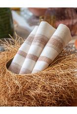 Andares Woven Napkin Cream and Copper