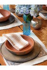"Andares Handmade ""Comal"" Smoked Clay Plate"