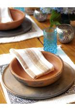 Andares Cream and Copper Napkin