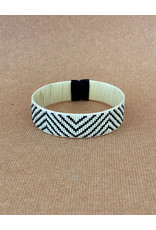Zenu Tribal Bracelet Chevron Cream