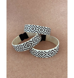 Zenu Tribal Bracelet Diamond Cream