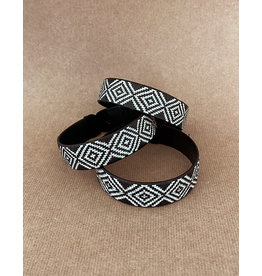 Zenu Tribal Bracelet Design1 Black