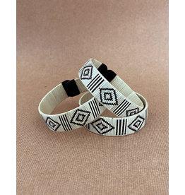 Zenu Tribal Bracelet Design 2 Cream