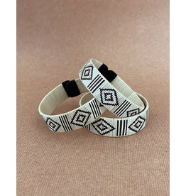 Zenu Tribal Bracelet Evil Eye Cream