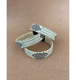 Zenu Tribal Bracelet Design 4 Cream