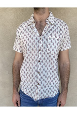 Dharan Holiday Shirt Maroon