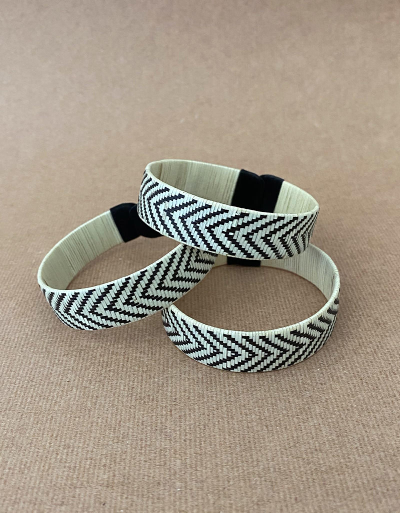Zenu Tribal Bracelet Arrow Cream